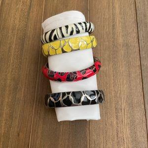 Set of 4 Express Bracelets